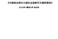 2020年中国创业型中小微企业创新行为调研报告_page_001.png