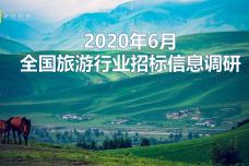 2020年6月全国旅游行业招标信息调研_000001.png